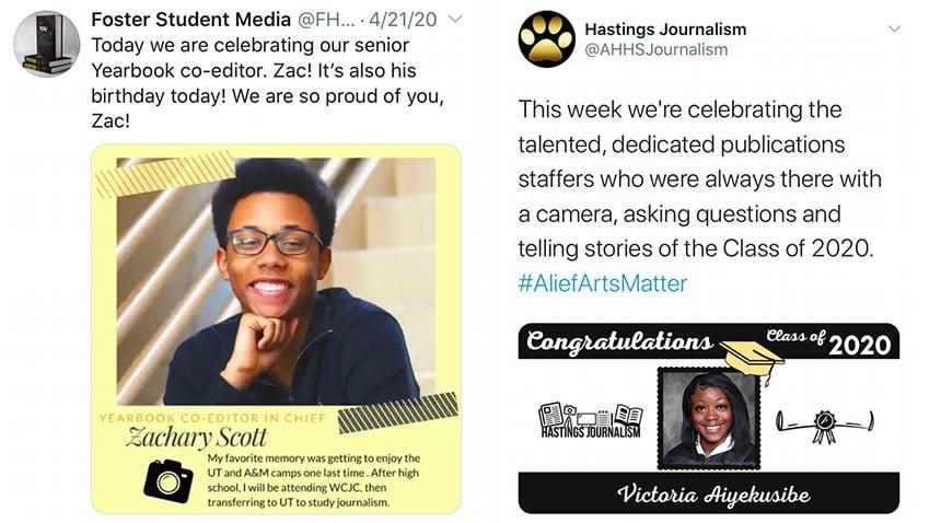 Foster_Alief Hastings_celebrate staff