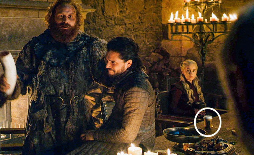 Game of Thrones_coffee cup mistake