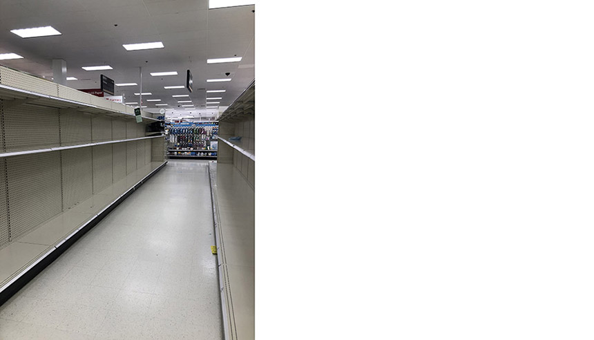 Post_Target_empty shelves AM