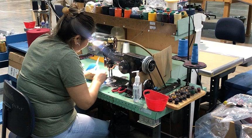 Waco sewing masks