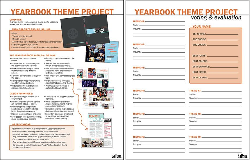 Yearbook theme project_directions