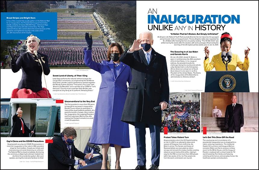 Inauguration national spread 860