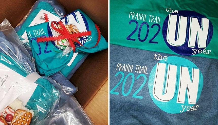 Prairie Trail_T-shirt staff gift